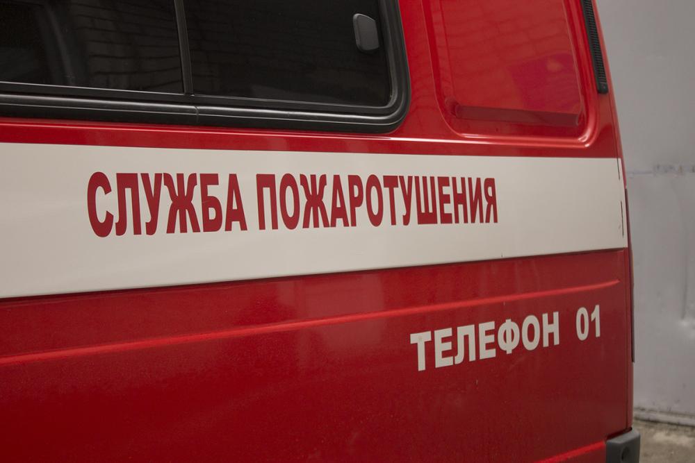 «Десятка» сгорела на трассе в Волгоградской области