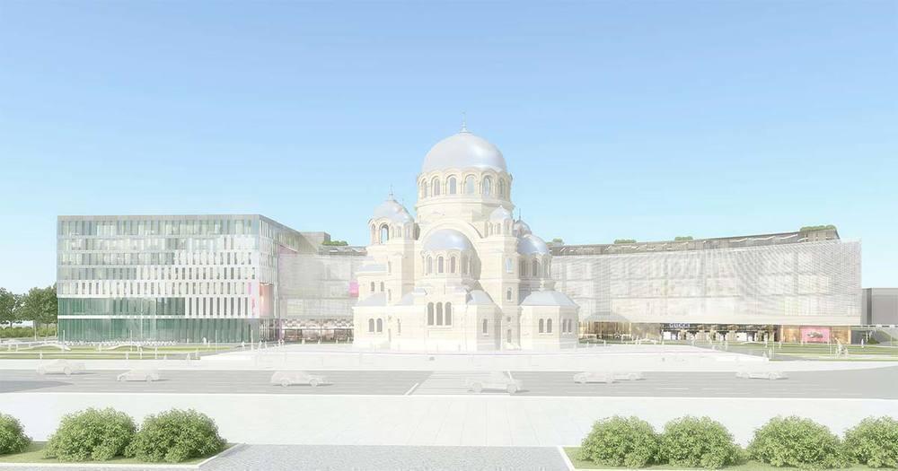 В Волгограде приступили к закладке фундамента храма Александра Невского