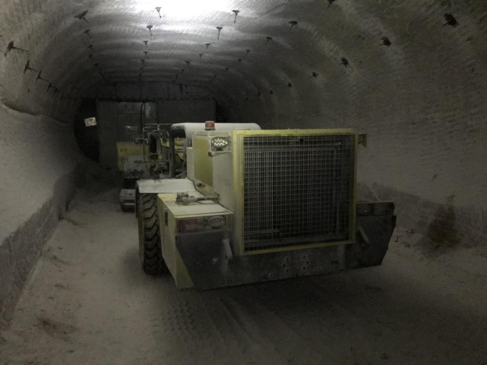 Инвестиции в развитие: подземный парк рудника Гремячинского ГОКа пополнился новой техникой