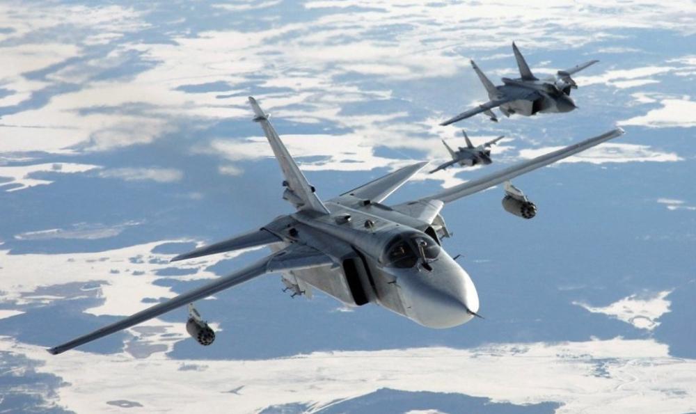 20 бомбардировщиков СУ-24М в Волгоградской области готовятся к уничтожению субмарин и кораблей