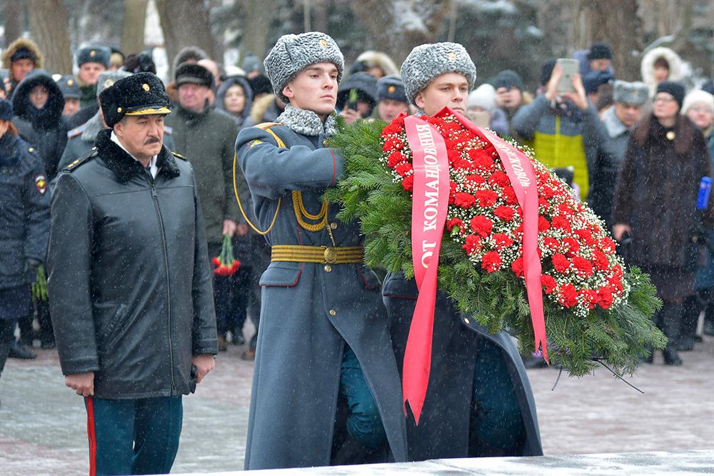 76-я годовщина победы в Сталинградской битве: фоторепортаж «Блокнота Волгограда»