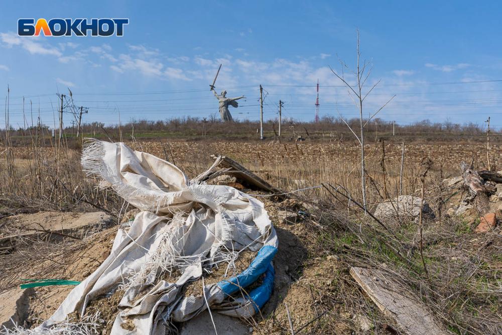 Мамаев курган в Волгограде превратили в свалку: фоторепортаж