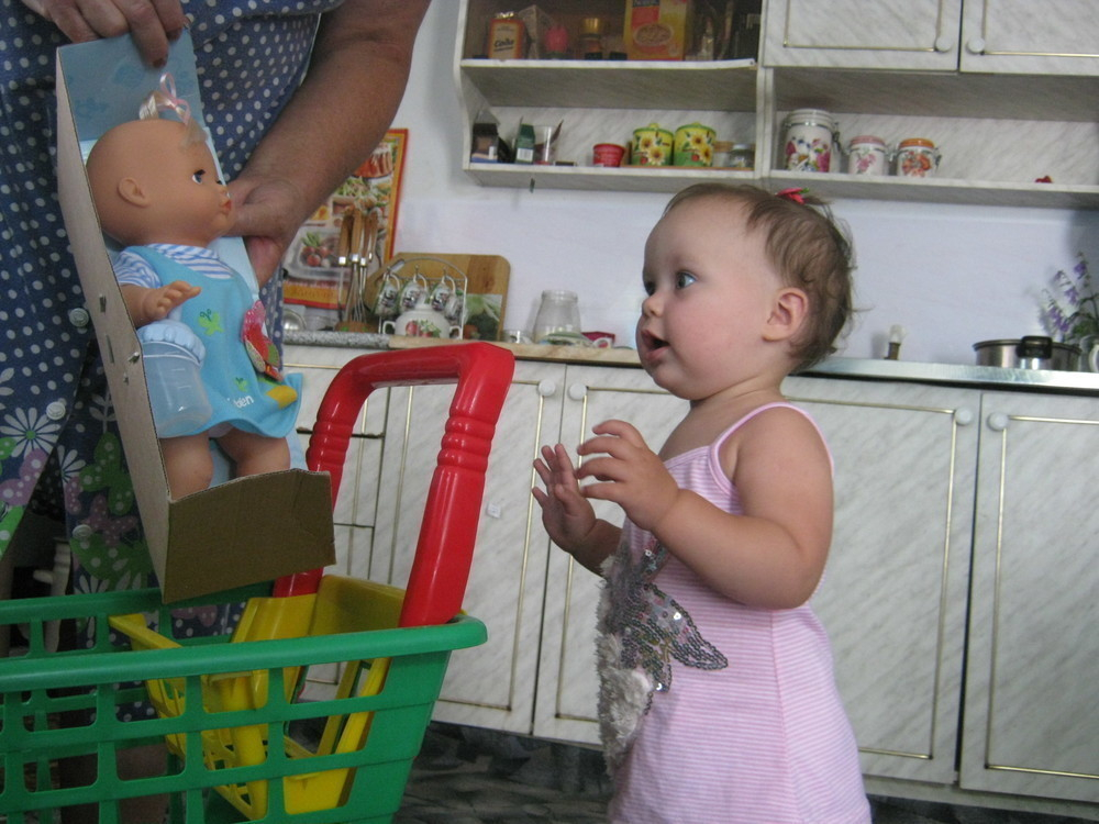 В конкурсе «День Варенья!» первая кукла Алисы Еремеевой