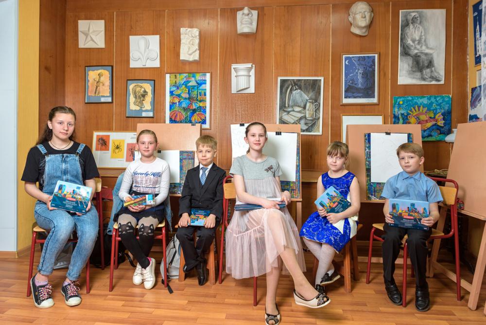 Работы юных художников из Котельниково получили международное признание