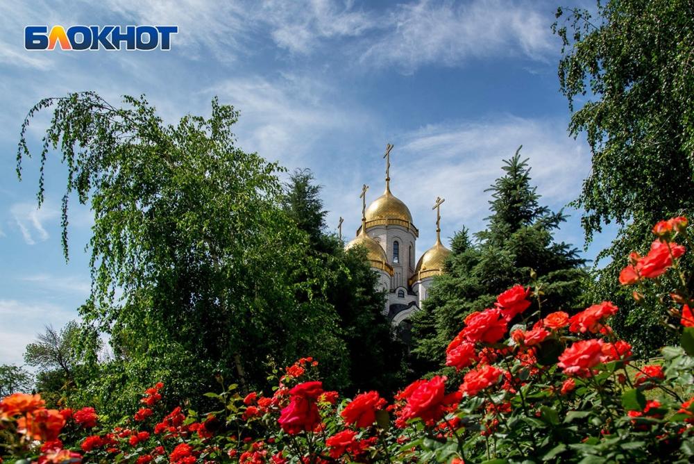 В Волгограде задержалось лето