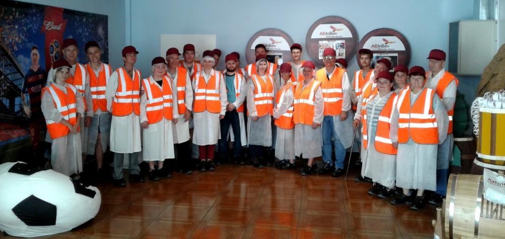 Более 150 человек посетило Волжский филиал компании AB InBev Efes