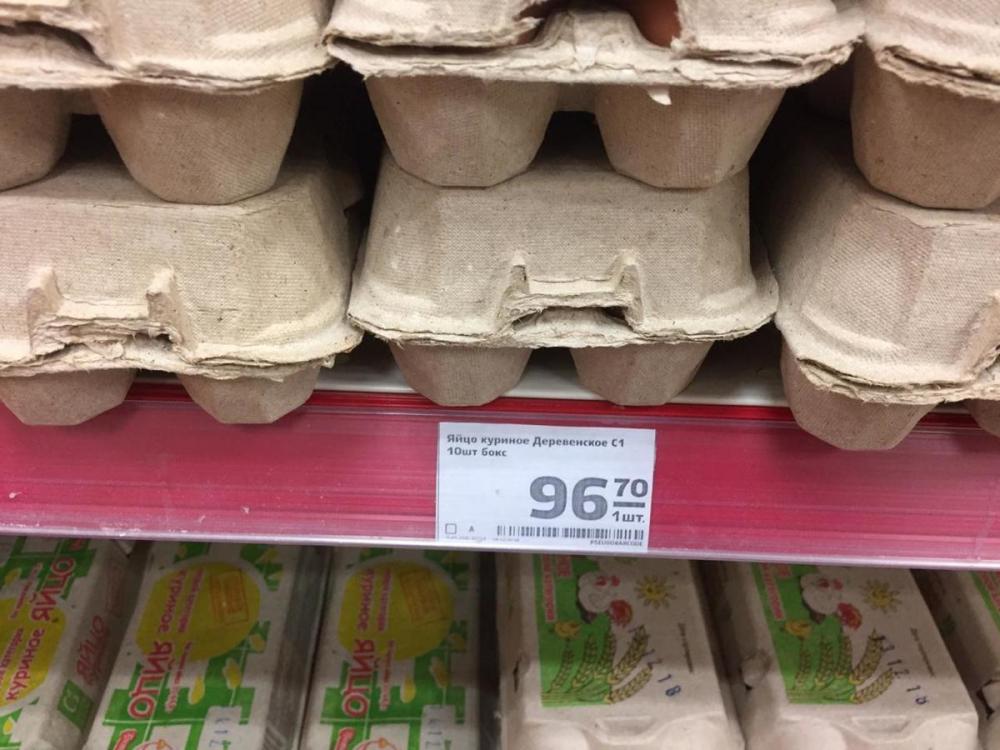 Снесла курочка: до 96 рублей подскочили цены на яйца в Волгограде