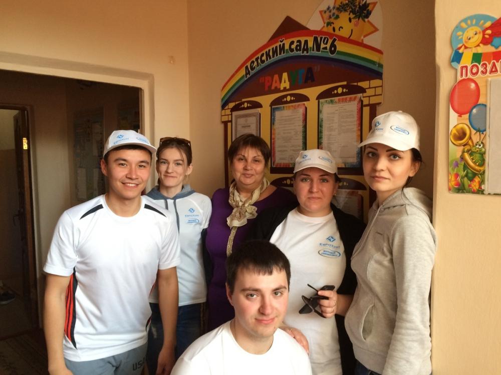 Молодежь «ЕвроХим-ВолгаКалия» устраивает праздники в подшефном детском саду