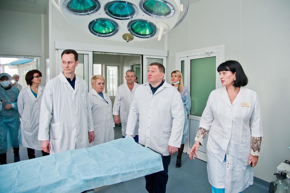 В первый день нового года губернатор Волгоградской области оказался в больнице