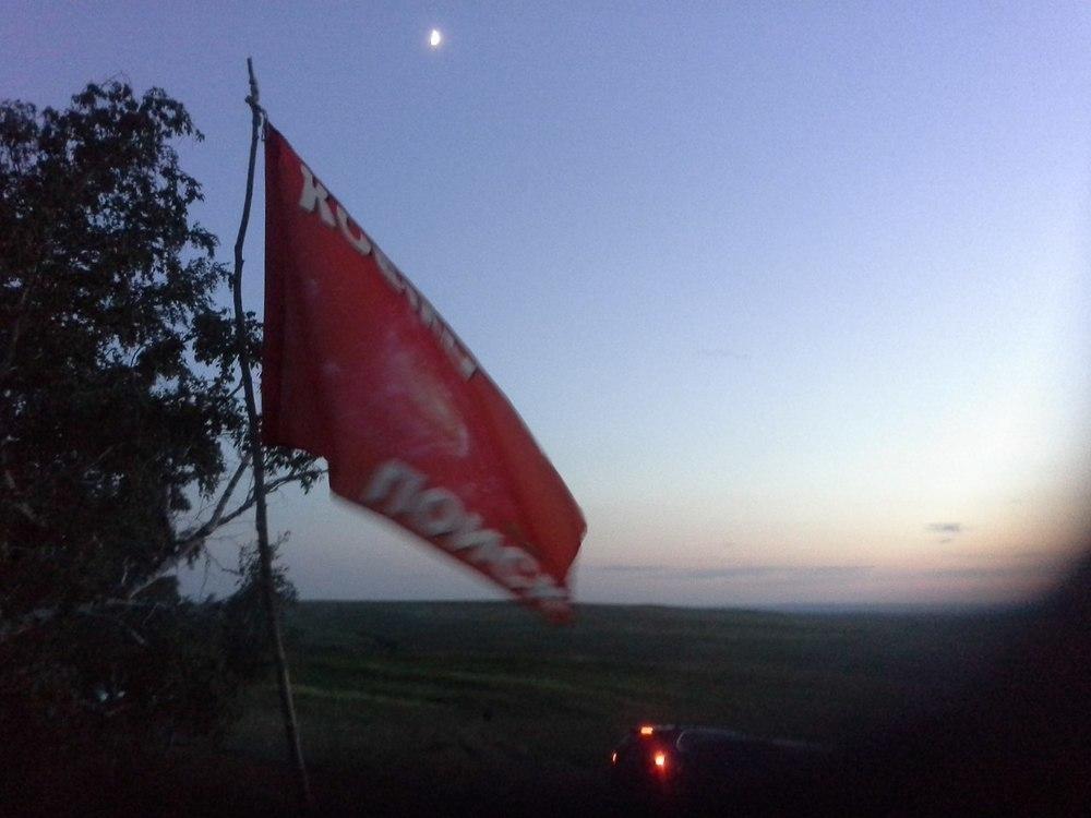 В Жирновском районе над уфологами в небе кружили шарообразные НЛО