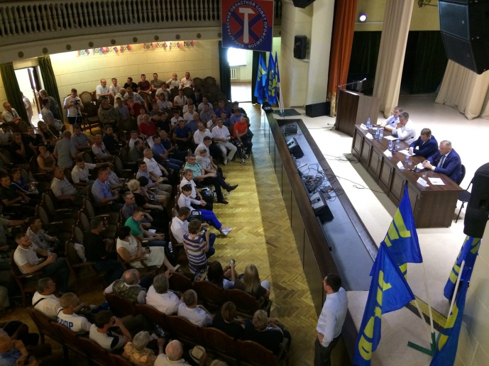 Первый заместитель Центрального аппарата ЛДПР Сергей Каргинов: «Волгоградское реготделение произвело великолепное впечатление»