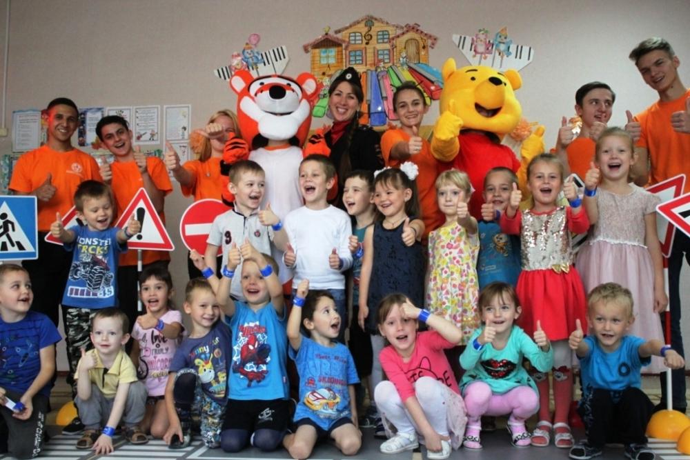 Котельниковские волонтеры провели новую акцию в детском саду