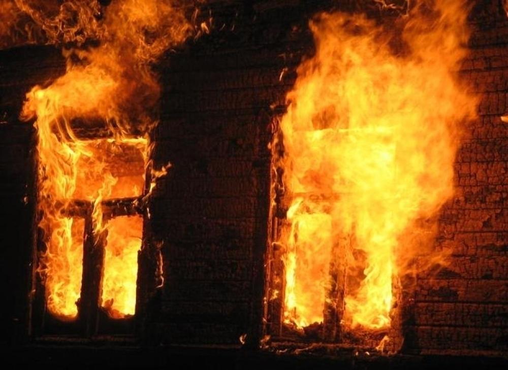 Под Волгоградом в бане заживо сгорел мужчина