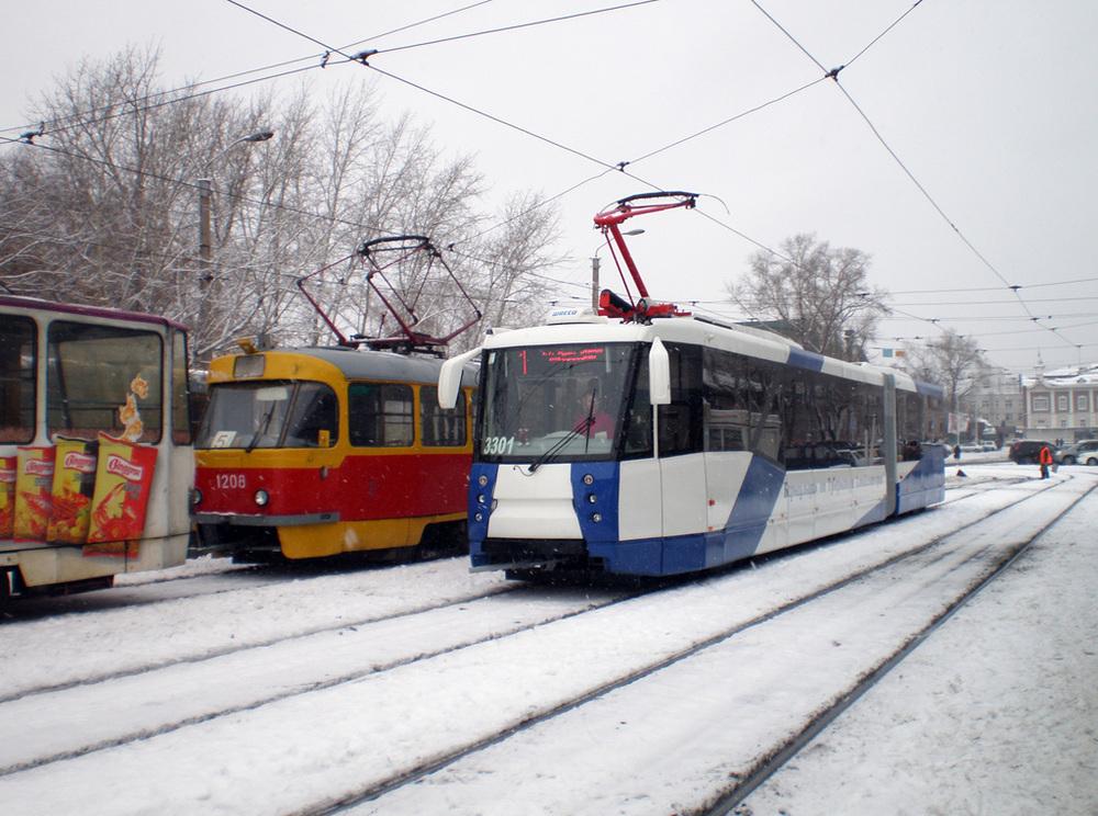 ДТП парализовало движение трамваев в Ворошиловском районе Волгограда