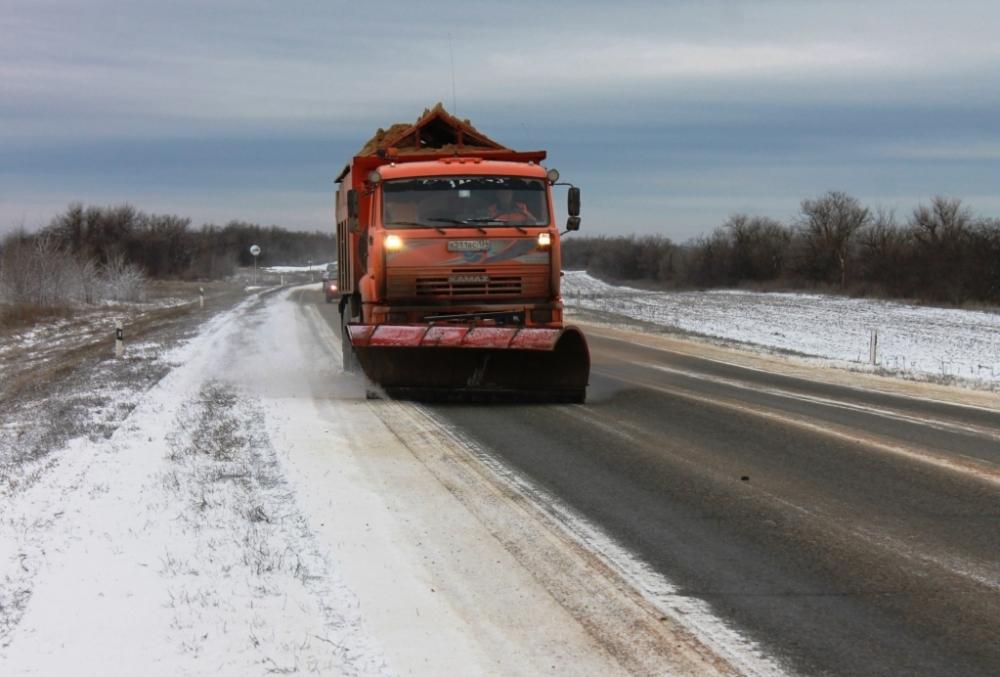 Волгоградцев предупреждают о сильном снегопаде