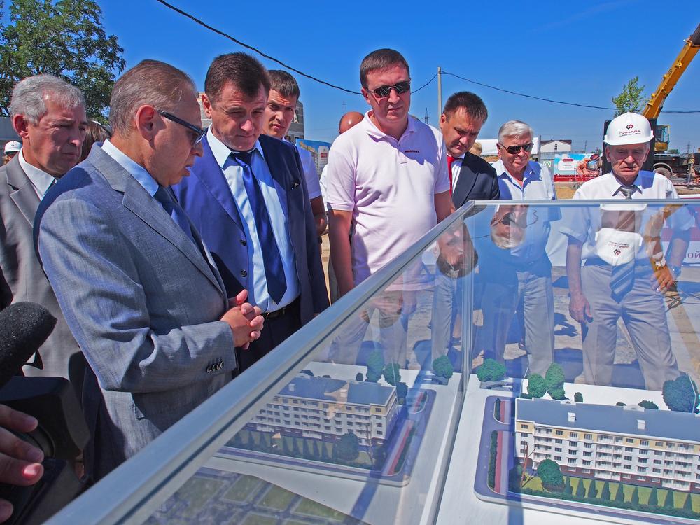 В Волгограде началось строительство нового микрорайона