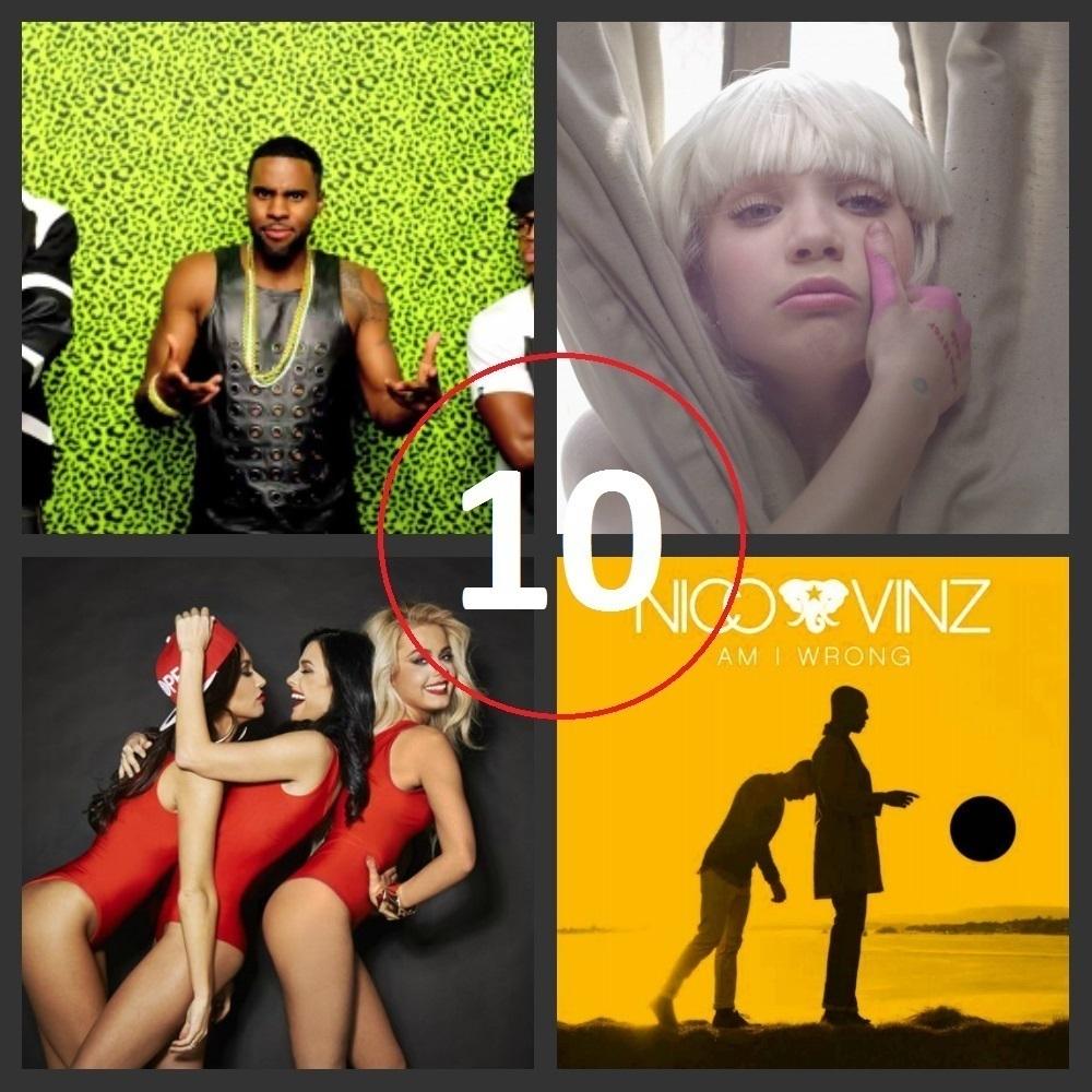 Топ-10 популярных в Волгограде песен в 2014 году