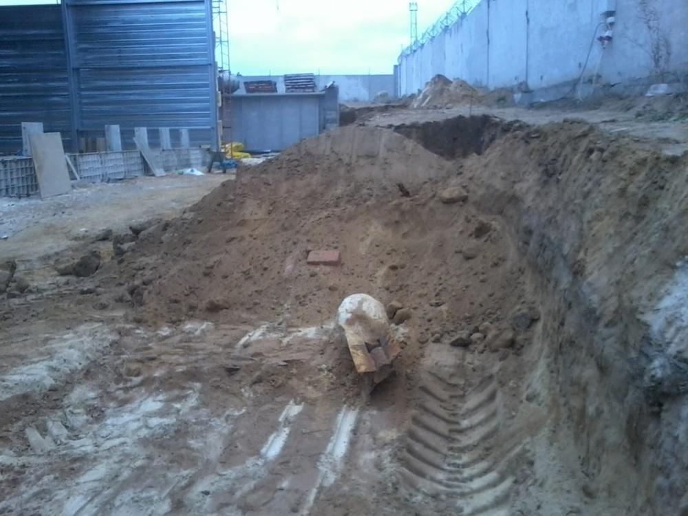 В Волгограде закрыли стройку из-за обнаруженной бомбы