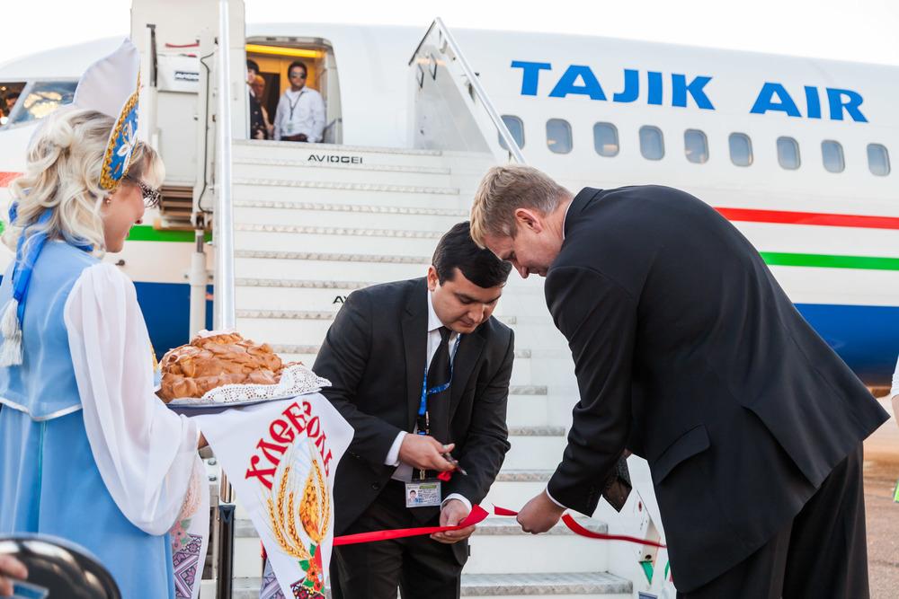 В Волгограде открыт новый авиарейс на Таджикистан