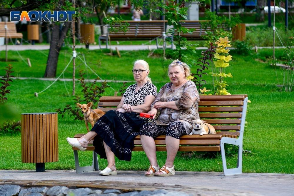 В Волгограде сохраняется критическая жара