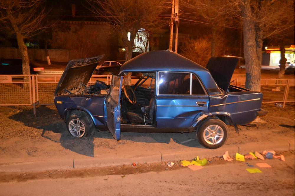 В Волгограде на проспекте Жукова погиб 32-летний лихач