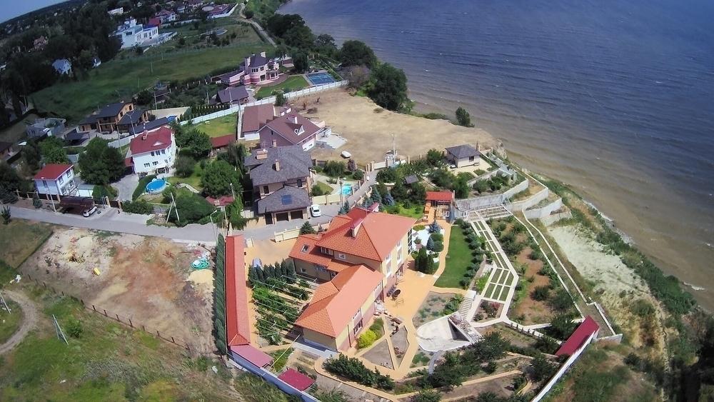 Элитный поселок Латошинка можно увидеть с высоты птичьего полета