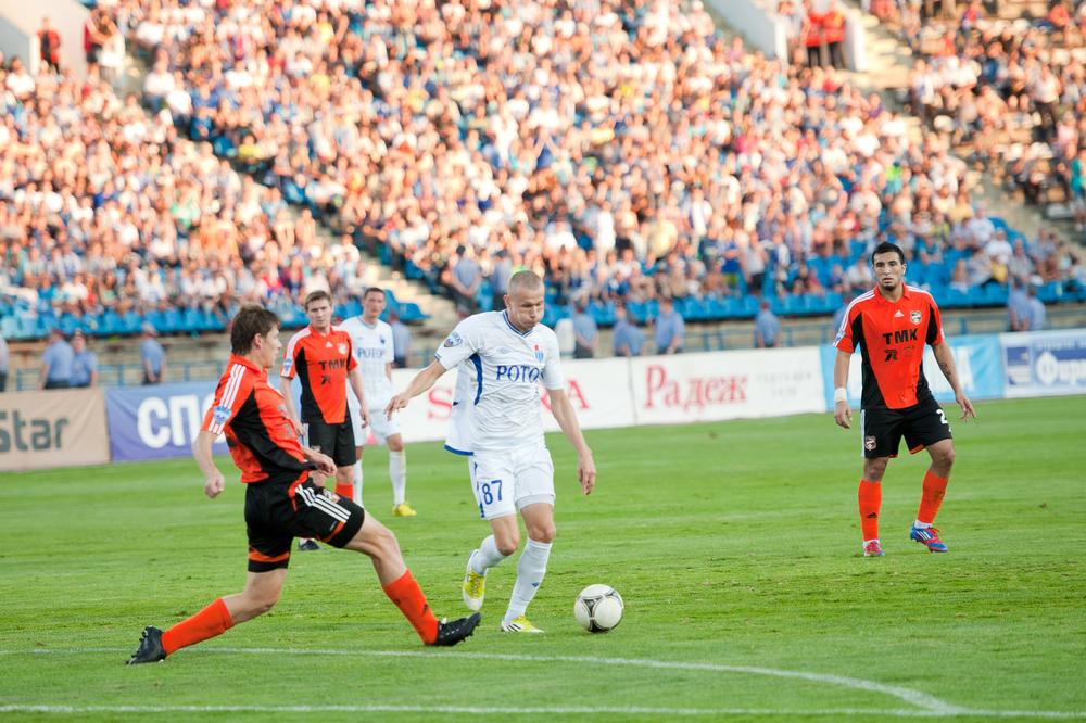 Волгоградский «Ротор» проиграл в домашнем матче