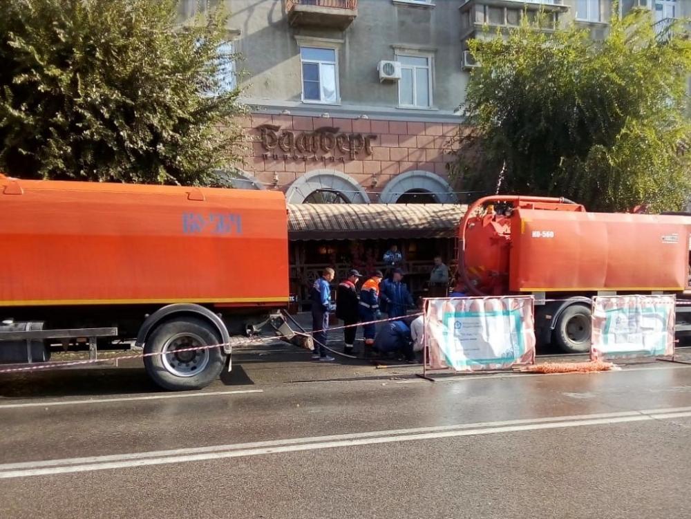 В Волгограде рестораны «Бамберг» и «Вилла Капри» закрылись на выходные из-за забитой канализации