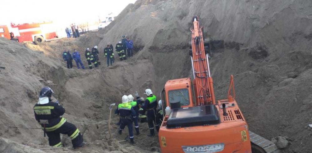 Стало известно, кто ответит за двоих заживо погребенных в Волгограде рабочих