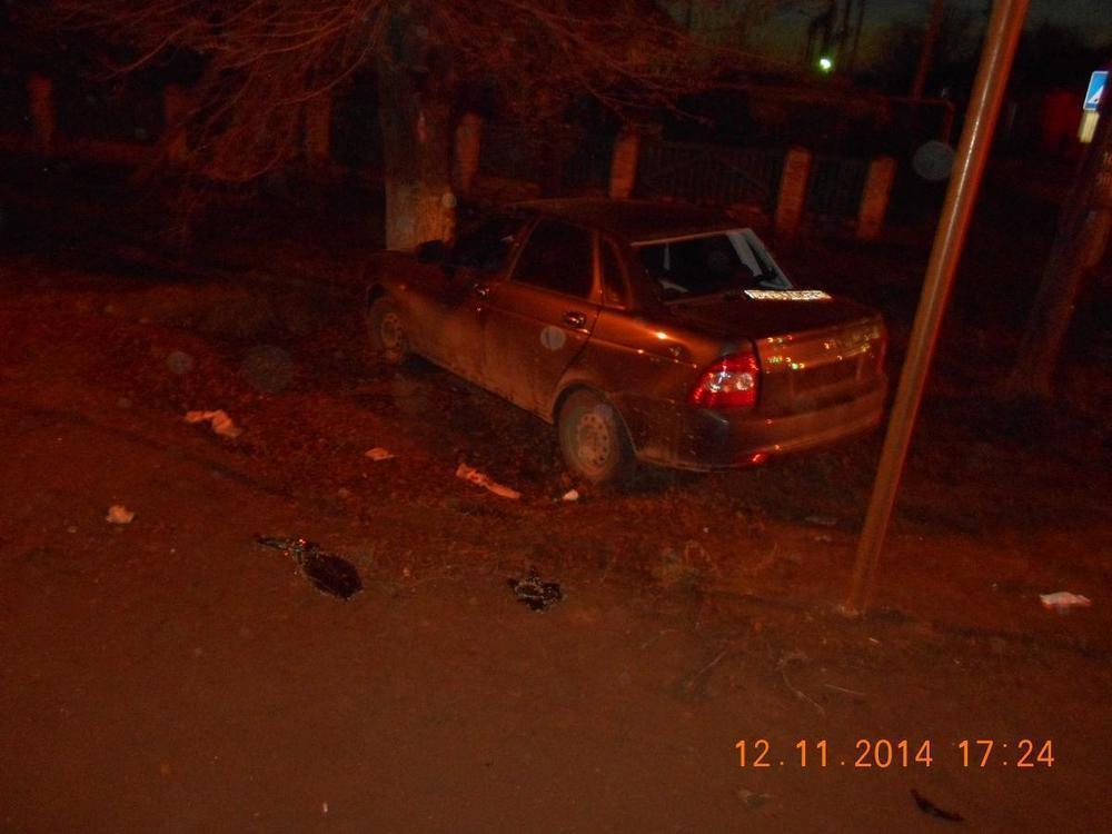 В Волгограде в ДТП Газели и «Приоры» пострадал 24-летний водитель