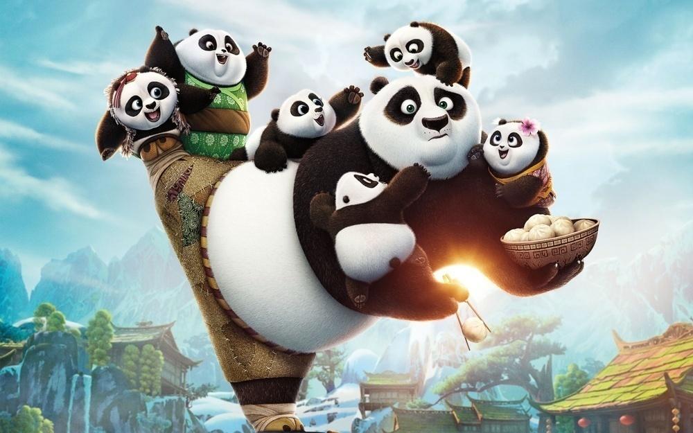 Хотите сходить на мультфильм «Кунг-фу Панда 3»?