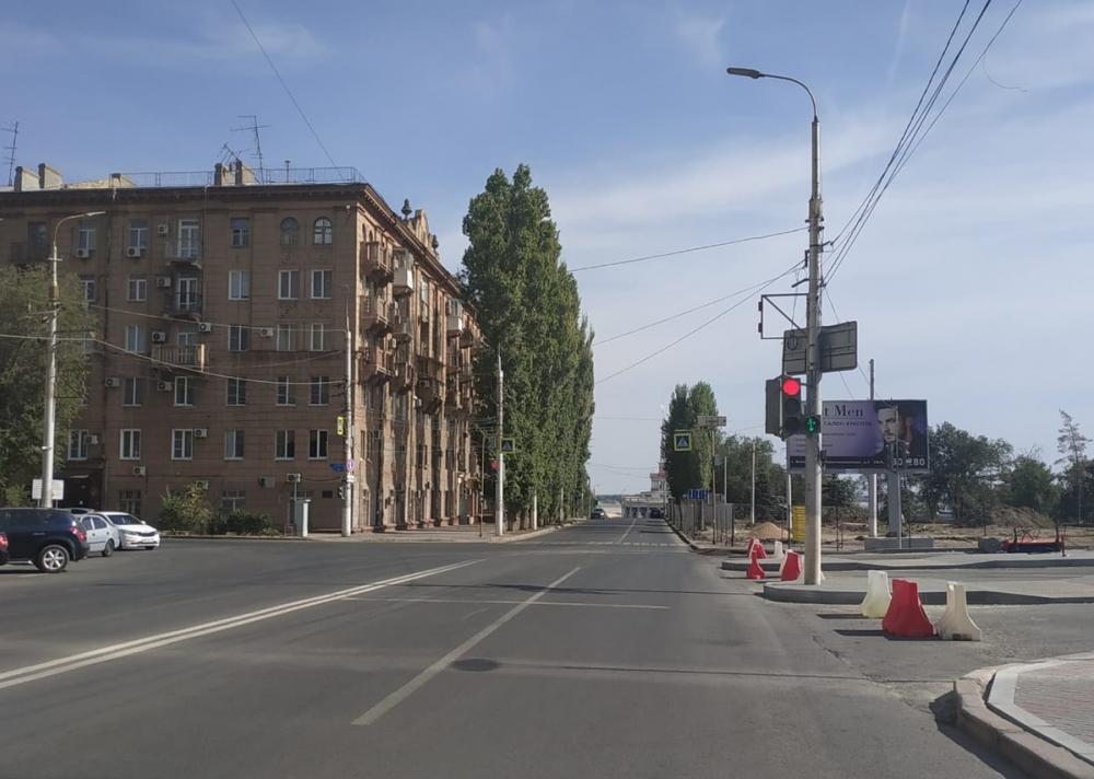 Дорогу в центре Волгограда перекрыли из-за приезда спикера Госдумы