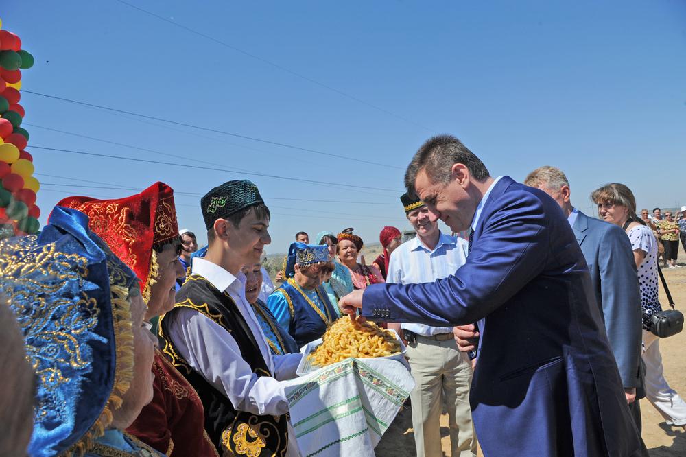 Сергей Боженов принял участие в праздновании «Сабантуя»