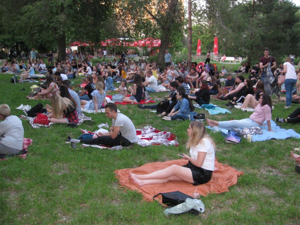 Волгоградцев зовут бесплатно посмотреть две комедии на траве под звездами