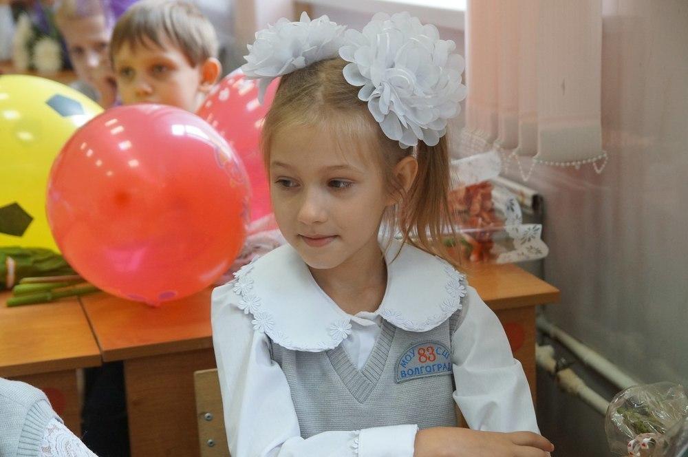 Первоклассники Волгограда не смогли 1 сентября избежать предвыборной политической пропаганды