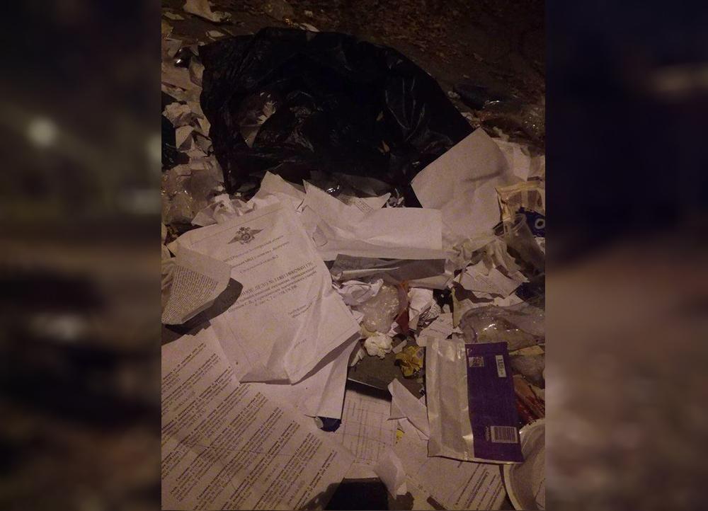Уголовные дела нашли на мусорке в Волгограде: полиция проводит проверку