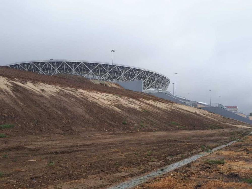 Стадион «Волгоград Арена» снова предпринял попытку уплыть в Астрахань