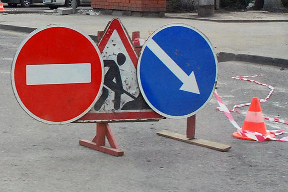 Сквозное движение автотранспорта по улице Козловской перекроют с 5 по 13 сентября