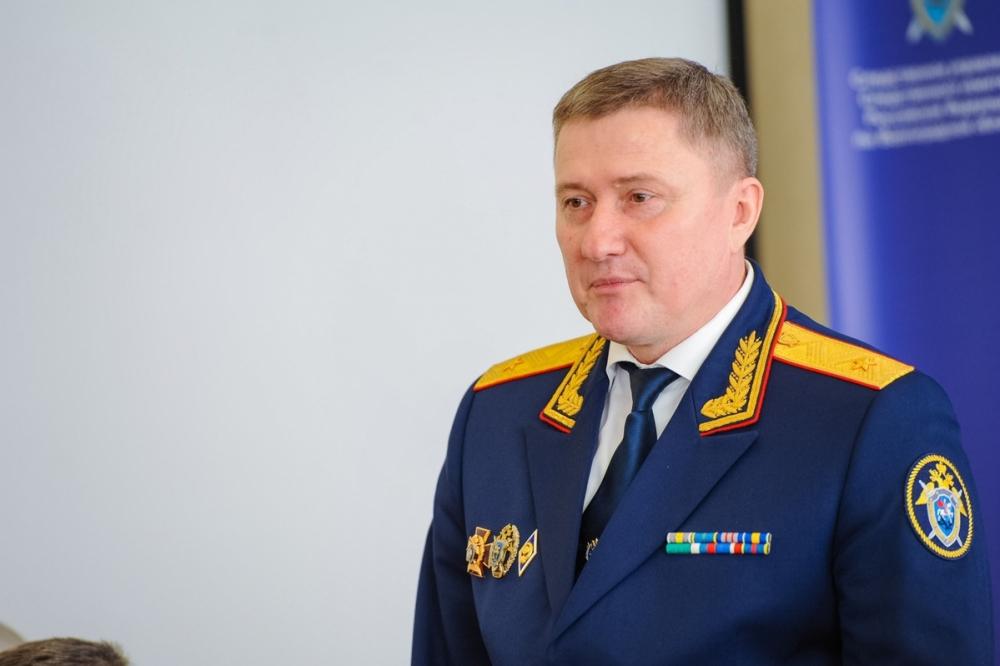 В Волгограде представили нового руководителя регионального СУ СКР