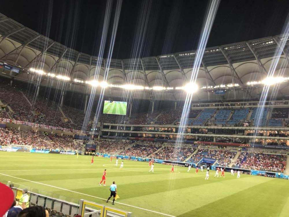 Тунис сравнял счёт с пенальти на стадионе «Волгоград Арена»