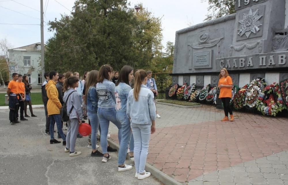 Котельниковская молодежь гордится историей своего города