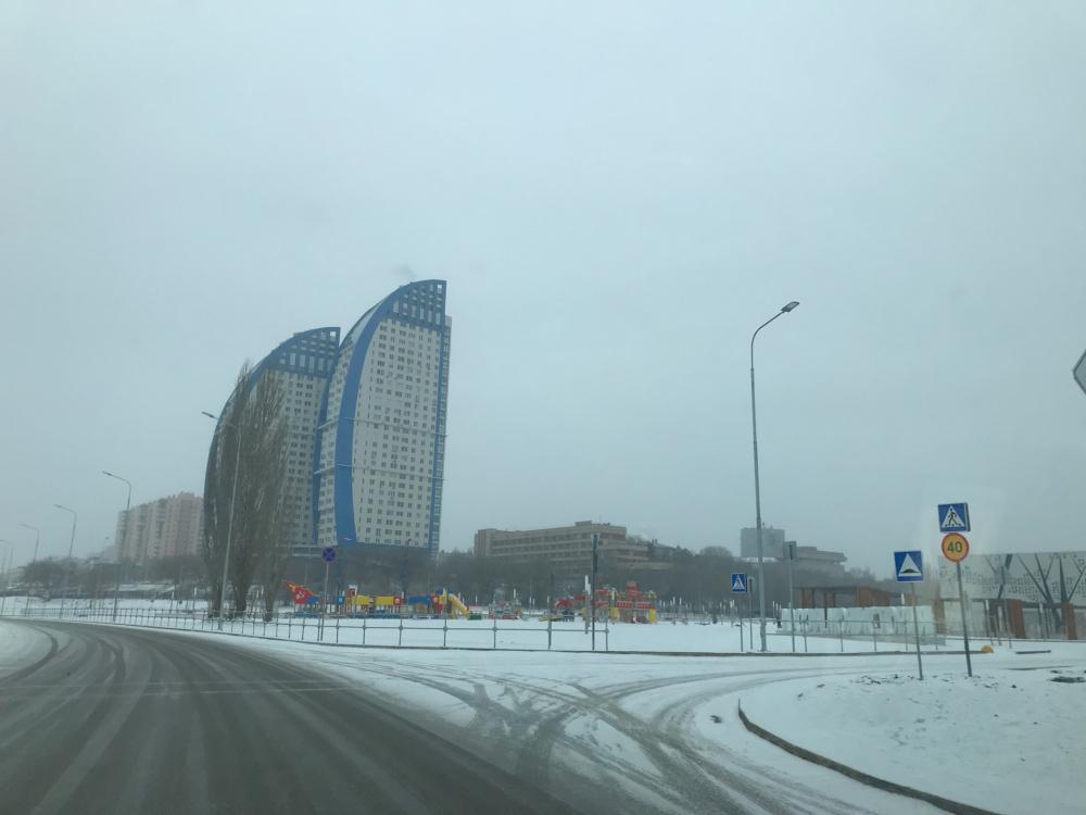 Волгоград вот–вот накроет снегопад