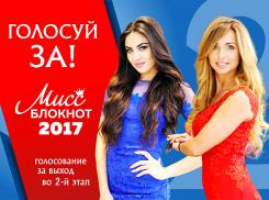 Началось голосование в конкурсе «Мисс Блокнот Волгоград-2017»