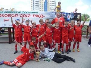 Юношеская «Олимпия» выиграла футбольный турнир в Туапсе