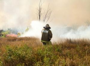 В Волгограде начались пожары