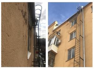 Дома в Волгограде рушатся после капитального ремонта