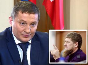 Губернатор Андрей Бочаров не хочет быть похожим на Рамзана Кадырова