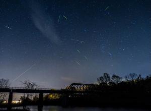 Волгоградцы смогут увидеть звездопад Ориониды сегодня в полночь