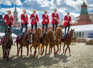 Наездники Кремлевской школы верховой езды выступят в Волгограде