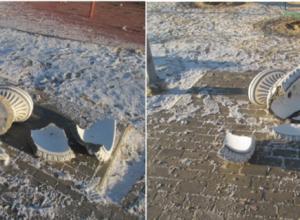 Молодые девушки устроили погром в парке в Волгоградской области, разбив вазоны на 25 тысяч